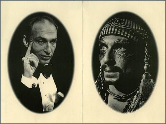 roy cohn/jack smith portraits