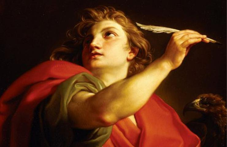 painting of saint john the evangelist