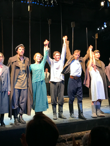 Cast of Lev Dodin'sBrothers and Sisters, Maly Theatre.