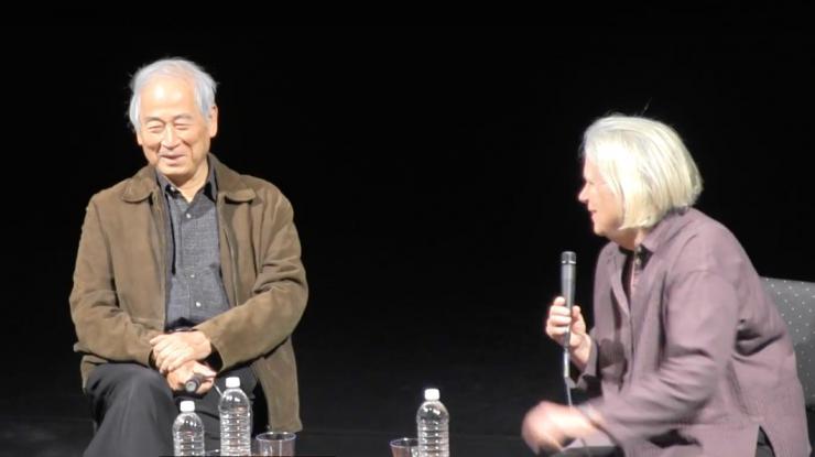 Tadashi Suzuki and Anne Bogart