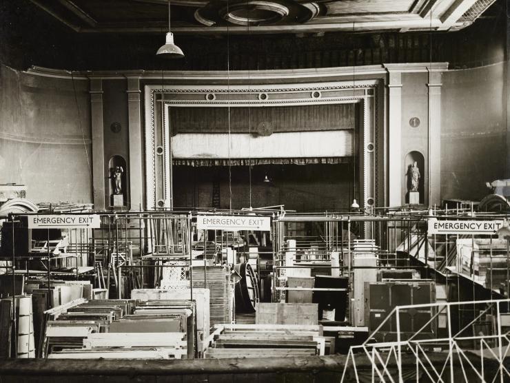 vintage photo of theatre