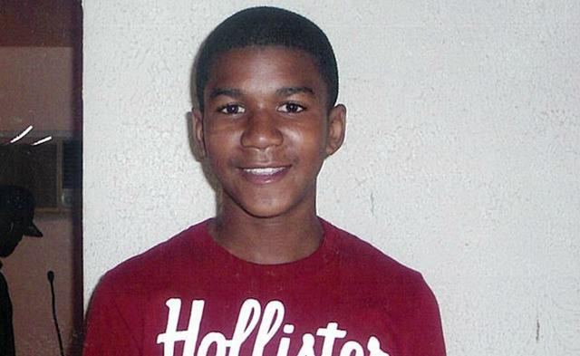 Trayvon Martin, smiling.