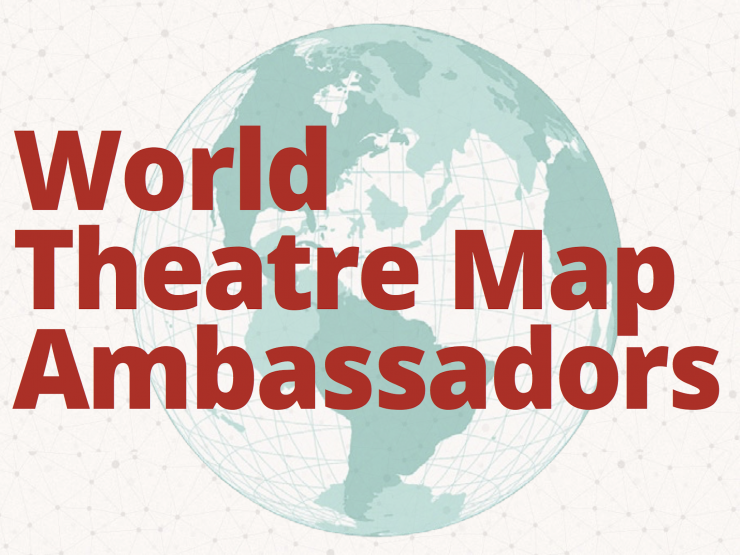 World Theater Map Graphic