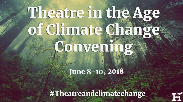 Theatre in the Age of Climate Change logo