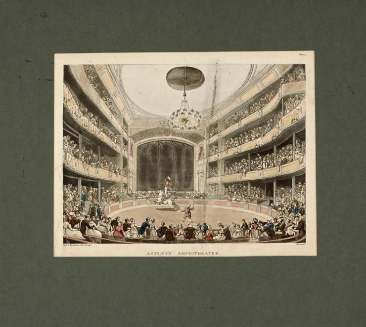 illustration of an amphitheatre