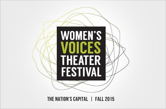women's voices theater festival poster