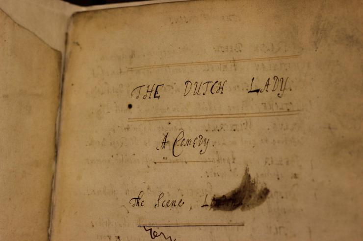 Old book page
