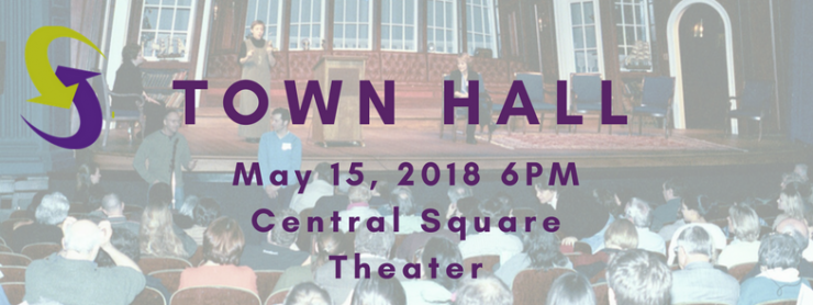 2018 town hall poster