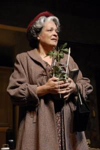 "An actor playing Mama in ""A Raisin in the Sun"""