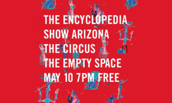 Poster for The Encyclopedia Show Arizona.