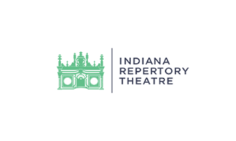 Logo for the Indiana Repertory Theatre.