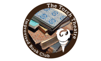 Logo for the Torch Theatre Book Club.