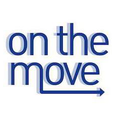 On the Move's logo.