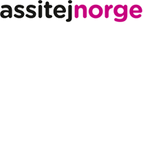 black text assitej pink text norge