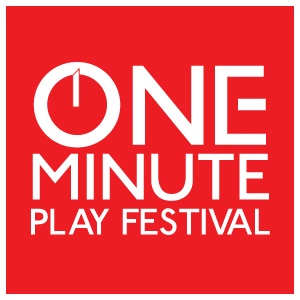 one minute play festival logo