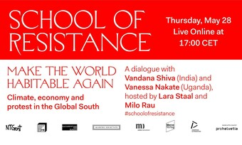 School of resistance event details.