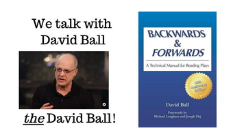 David Ball and the book Backwards and Forwards.
