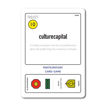 playing card with text culturecapital