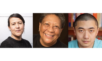 Natalie Diaz, Marilyn Nelson, and Ken Liu.