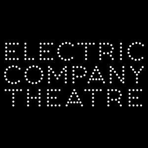 black background with white point text electric company theatre