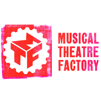 red M T F logo Musical Theatre Factory