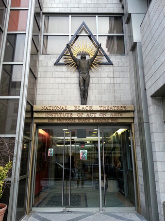 National Black Theatre entryway