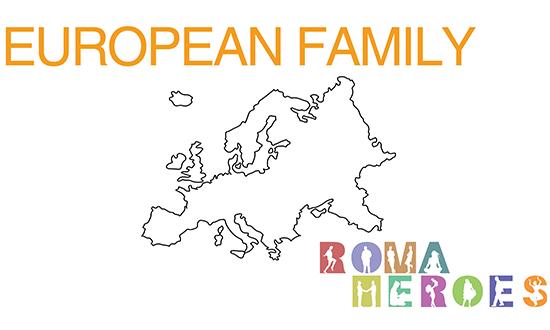 European Family's show poster.
